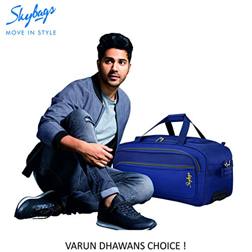 Skybags Scot Plus Polyester 64 cms Blue Travel Duffle (DFTSPE64BLU) Image 8