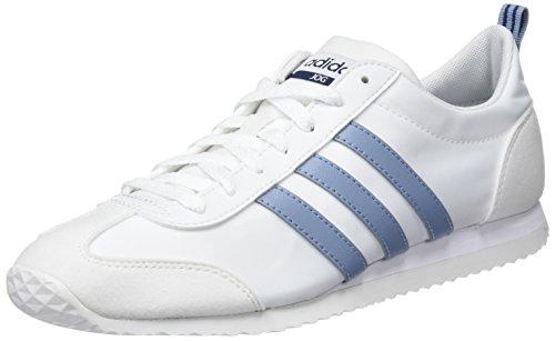 adidas Herren Vs Jog Gymnastikschuhe, Elfenbein (FTWR White/Raw Grey S18/Crystal White S16), 44 2/3 EU
