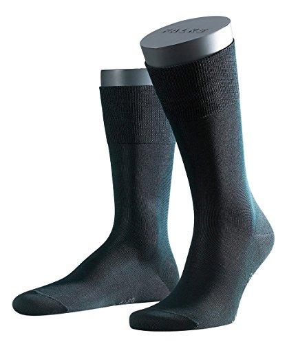 3 Paar Falke Herren Socken 14662 Tiago SO Business Strumpf, Farbe:Black 3000;Socken & Strümpfe:41-42