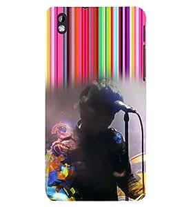 PRINTSWAG SINGER Designer Back Cover Case for HTC DESIRE 816