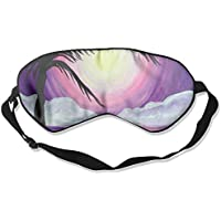 Eye Mask Eyeshade Seaside Painting Sleeping Mask Blindfold Eyepatch Adjustable Head Strap preisvergleich bei billige-tabletten.eu