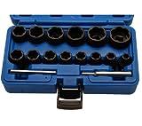 BGS 5269 Spezial-Steckschlüsseleinsätze, 8-27 mm, 12,5 (1/2