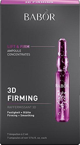 BABOR AMPOULE CONCENTRATES 3D Firming, Gesichtspflege mit Anti Aging Effekt, festigt das Gewebe mit Hyaluronsäure, reduziert...