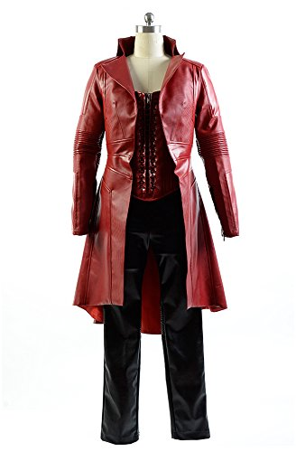 Captain America Civil War Avengers Scarlet Witch Wanda Kleidung Cosplay Kostüm XS