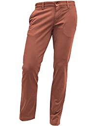 ALBERTO Garment Dyed Pima Cotton Chino Modell Lou, Slim Fit