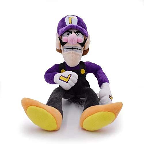 YOUHA 15-28 cm Super Mario Broser JR 3D Land Knochen Kubah Koopa Drache Dark Bowser Kamek Waluigi Wario Lemmy Morton Roy Bully Plüschtiere Waluigi