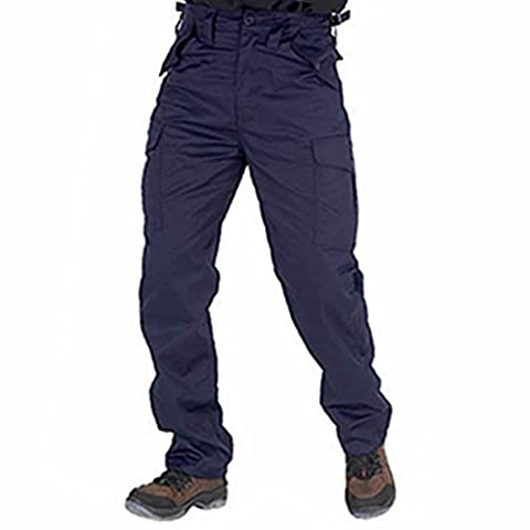 FAS - Pantalon - Homme Bleu Bleu marine 34 W/33 L