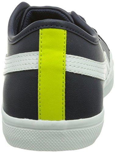 Puma Elsu Sl, Sneakers Basses Mixte adulte Bleu (Peacoat/White)