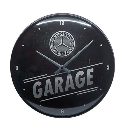 Nostalgic-Art 51096 - Mercedes-Benz - Garage - Wanduhr 31 cm