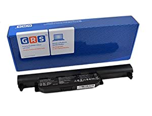 GRS Batterie d'Ordinateur Portable pour Asus X75VD, X75V, A55V, X55V, K55DR, A33-K55, 4400mAh,10,8V