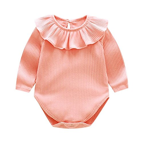 f31f874e1 POLP Bebé Mameluco (◉ω◉) Recién Nacido Bebé Unisex Impresión Monos  Conjuntos para
