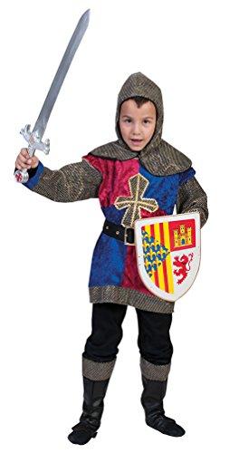 Karneval Klamotten Ritter-Kostüm Kinder Kinderkostüm Ritter für Jungen Mittelalter-Kostüm Karneval Größe 128 (Jungen Ritter Kostüme)