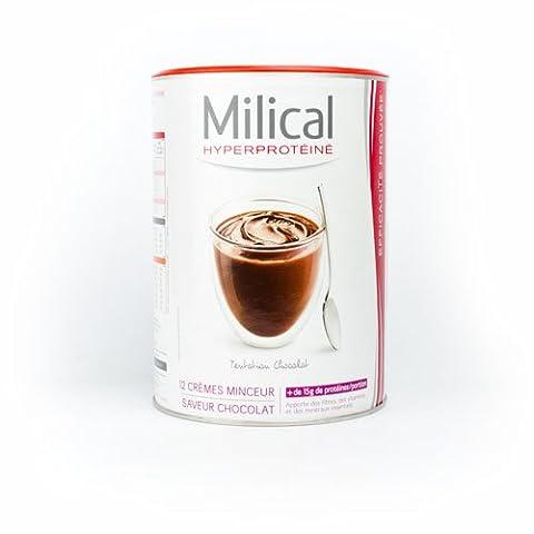 Milical 12 Crèmes Minceur Hyperprotéinées - Saveur : Chocolat
