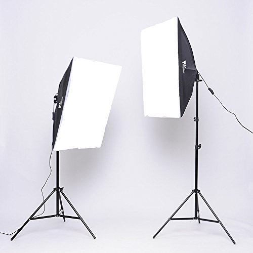 Zoom IMG-1 amzdeal softbox kit 2 professionale