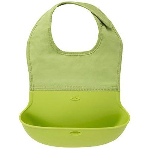 oxo-tot-babero-plegable-verde