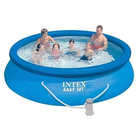 Intex Easy Set Aufstellpool, blau, Ø 366 x 76 cm, ohne Pumpe