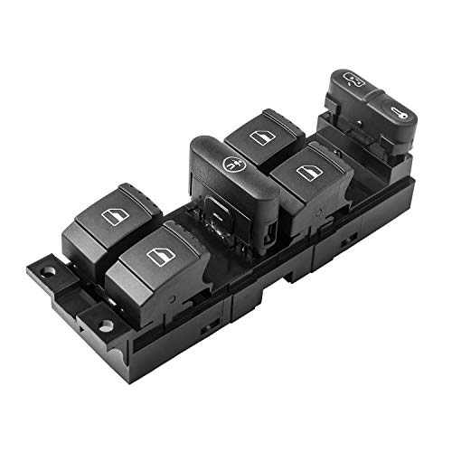YAOPEI Interrupteur de Commande pour Vitres Electriques de Voiture 4F0959851