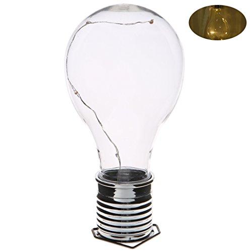 Hergon Hängende Solar-LED-Leuchtmittel, kabellos, drehbar, wasserfest, für den Außenbereich, Garten, Camping, Baum-Dekoration