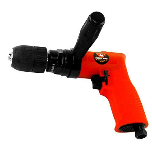 - Neiko 1/2-Inch Composite Reversible Air Drill with Keyless Chuck by Neiko Pro
