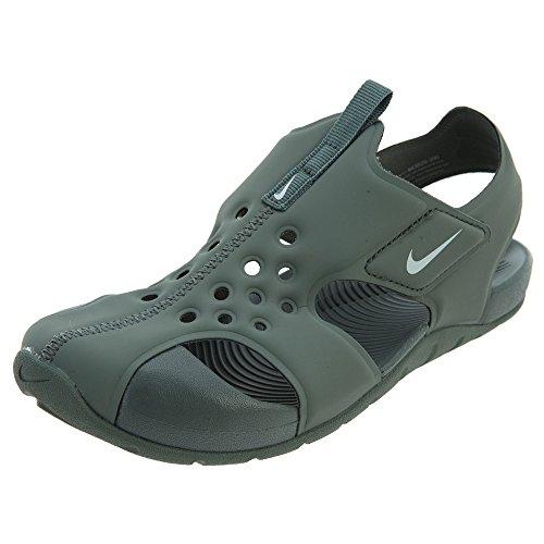 Nike Chanclas Sunray Protect 2 (PS), Zapatillas de Deporte Unisex Niño, Gris (Gris 943826 300), 29.5 EU