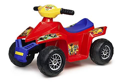 FEBER Toy Story 4 - Quad Electrique pour Enfants de 18 mois à 3 ans (Famosa 800012182)
