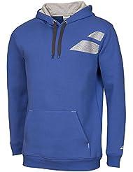 Babolat Hood Sudadera Core Boy azul, primavera/verano, color Azul - azul, tamaño S