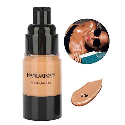 Selbstbräuner, Sunless Tanning Lotion Leg Make-up Gesicht Foundation Liquid Longlasting Feuchtigkeitsspendende Fake Tan Body Cream 20ml(Typ 1) -