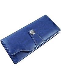 Sn Louis Artificial Leather Blue Women Wallet 104