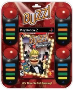 Buzz: der Hollywood Quiz Paket (Playstation 2)