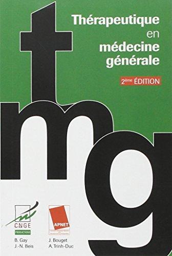 Descargar Libro Thérapeutique en médecine générale de Bernard Gay