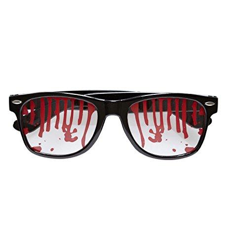 Halloween Blutbrille / blutige (Kostüme Office Halloween)