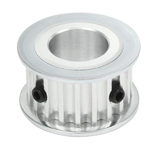 sourcingmap® Synchrone Rad 20 Zähne 17mm Bohrung Aluminium Zahnriemenscheibe 16 mm breite Riemen