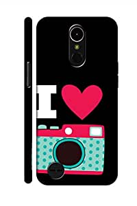 AMAN Crush On Cam 3D Back Cover for LG K10 2017