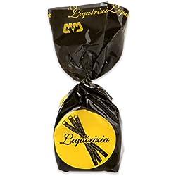 Pralina alla Liquirizia - Confezione da 10 cioccolatini artigianali piemontesi - 200 g
