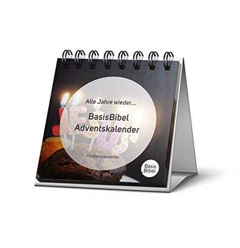 Alle Jahre wieder ... BasisBibel Adventskalender: Postkartenkalender