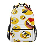 Best Emoji bookbags For Girls - Sac à Dos Backpacks Emoji Happy Student Backpack Review