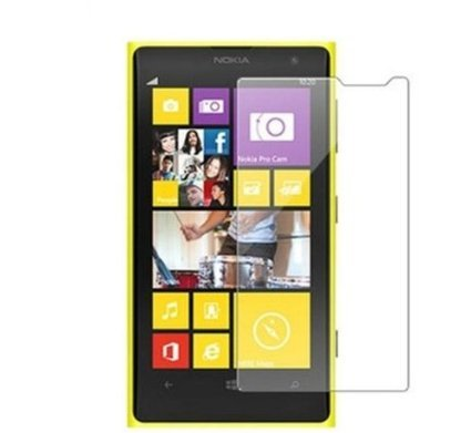 SNOOGG Nokia Lumia 1020Full Body Tempered Glass Screen Protector [ Full Body Edge to Edge ] [ Anti Scratch ] [ 2.5D Round Edge] [HD View] – White  available at amazon for Rs.123