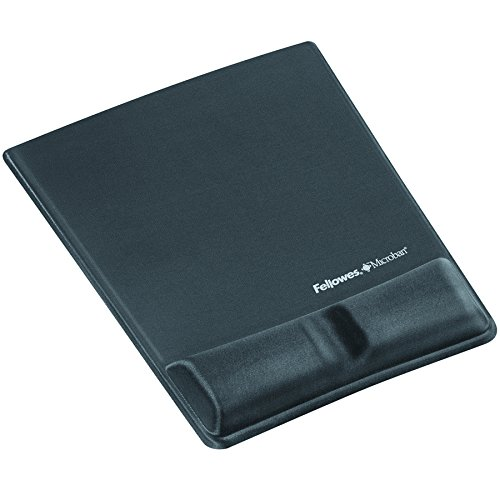 fellowes-9184001-health-v-lycra-tapis-de-souris-ergonomique-avec-repose-poignet-graphite