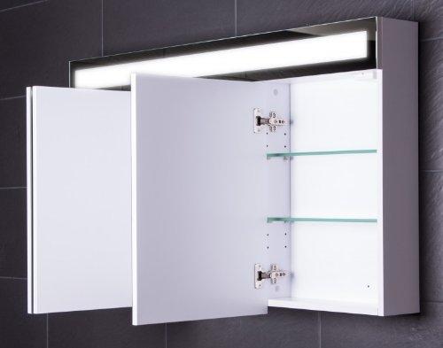 LED Spiegelschrank Badezimmer – Galdem EVEN 120 cm - 5