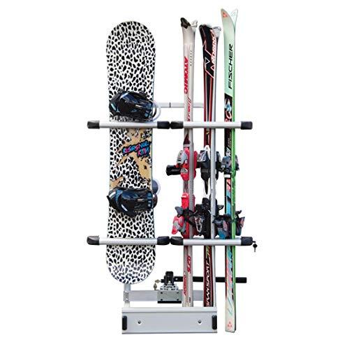 Ski & Snowboard Träger für Anhängerkupplung FABBRI + Elementtrade Sticker