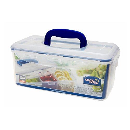 LOCK & LOCK Frischhaltebox, Kunststoff, Quantità: 1 Pezzo (Glas-brot-box)