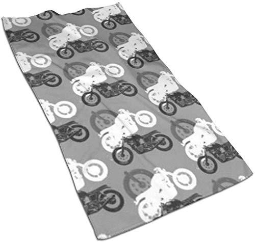 aiteweifuzhuangdian Motorräder Moto Madness Mikrofaser-Haar-Handtuch, einzigartige Designer entworfen Bedruckte Handtuch,schnell trocknendes Handtuch, Sporthandtuch, benutzerdefinierte