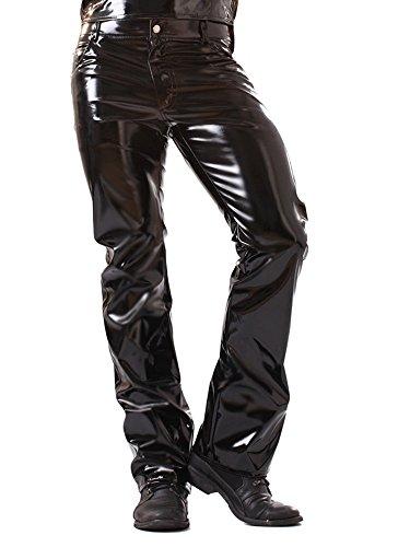 Skin Two Clothing Klassisch geschnittene PVC-Jeans Größe - ()