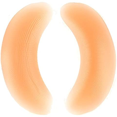 Sealike suaves almohadillas de silicona Push Up Bra Pads Insertar Breast Enhancer Bikini para mujer con un lápiz