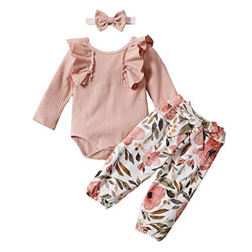 Minnie Maus Outfit Ideen - Zegeey MäDchen Baby Einfarbig Jumpsuit Pullover