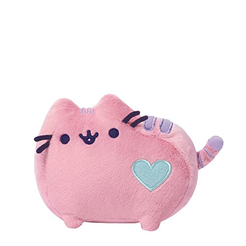 Enesco 4048873 - PELUCHE PUSHEEN ROSE, Multicolore, 0.15 Litri