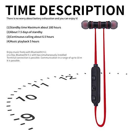 sunvito Cuffie per Lo Sport Bluetooth V4.1 Headset 4b4bb5158ff1