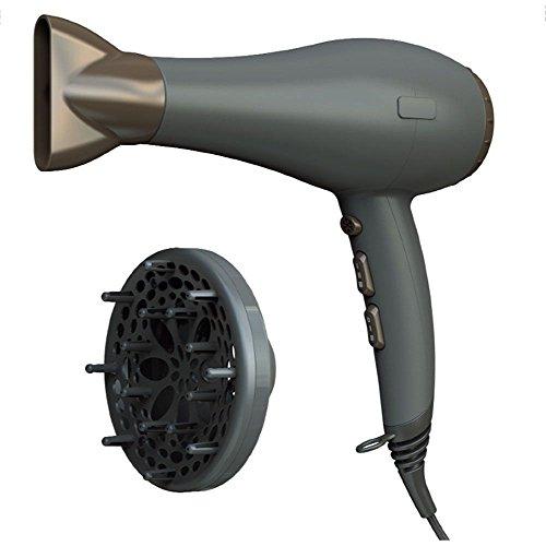 Asciugacapelli Professionale Dotato Di 2 Velocità, 3 Temperature, Protezione Surriscaldamento.