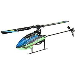 XuBa 2,4 G 4 Ch 6 Aixs Gyro Flybarless RC Helicóptero V911S BNF Regalo de cumpleaños para niños