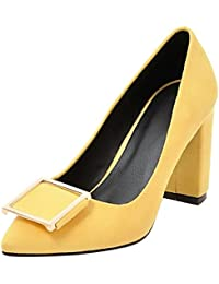 Zapatos Tacón Amazon es Para Mujer De Amarillo 4qZgwR